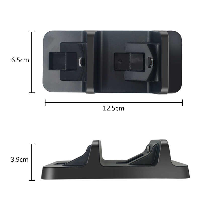 USB Sony Ps4 Pengisian Dock Ps4 Controller Charger Gaming Controller Stand Station untuk PS4 Sony PlayStation 4 Konsol Game