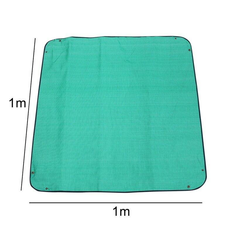 100X100 см уплотненный коврик для изменения растений, многоразовая Водонепроницаемая подушка для бассейна, квадратная подушка для садоводства, смешанный дизайн с замком для почвы, коврик с цветком