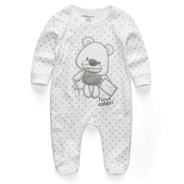 Милый детский комбинезон удобная одежда для новорожденных 0-9 м одежда для малышей, новорожденных одежда для малышей - Цвет: baby Cuddlies1
