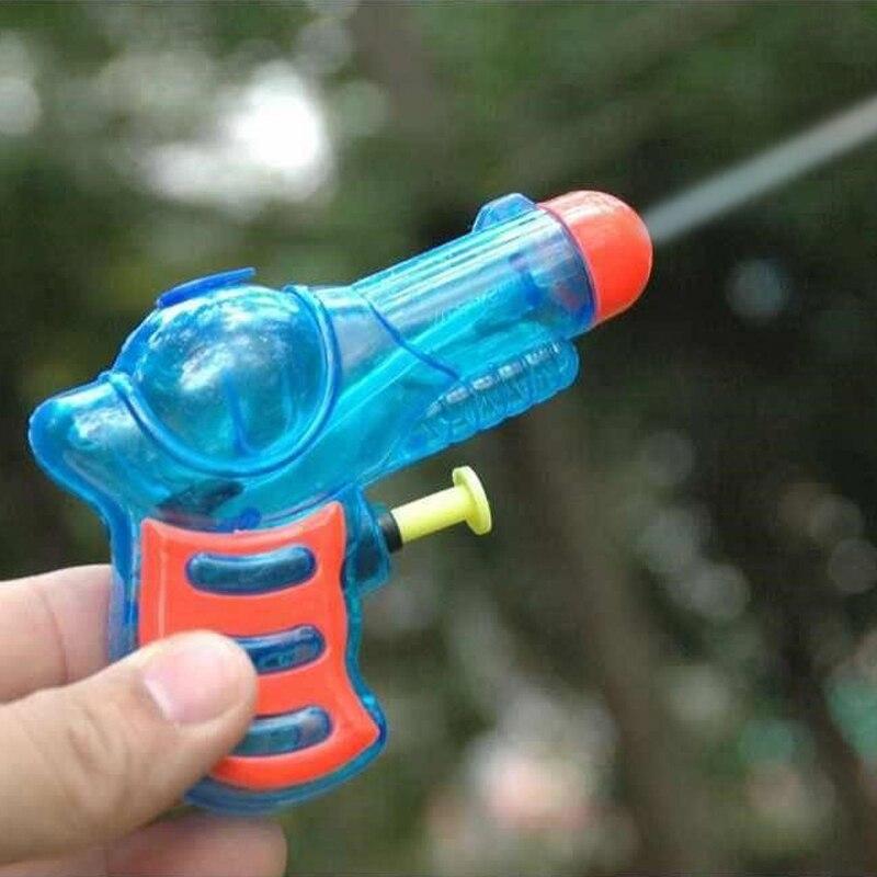 Mini Trumpet Transparent Water Gun Water Gun Summer Beach Children Playing In The Water Swimming Bath Toys Beach Toys
