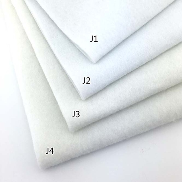 50 100cm Single Face Adhesive Cotton Polyester Wadding