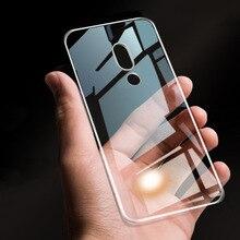 Clear soft case For MEIZU 16X Transparen