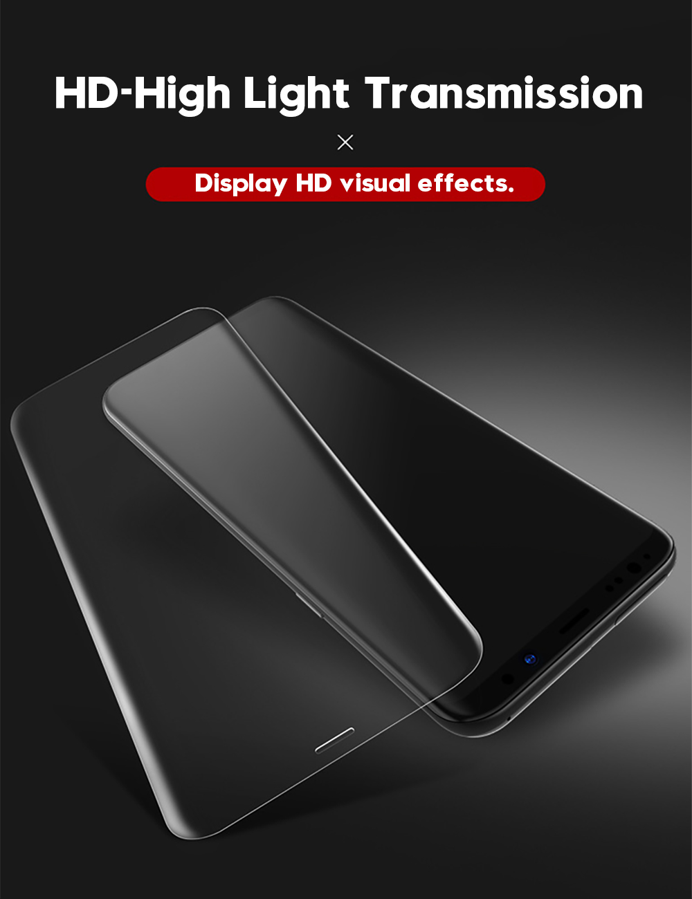 9D Tempered Glass Screen Protector for Samsung