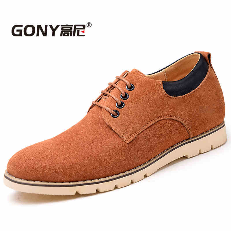 GN65832 Fashion Mens Cow Suede Shoes Black / Brown Casual Man Nubuck Leather Shoes Leisure Men Flats Chaussure Homme циркулярная пила диолд диолд дп 1 4 01