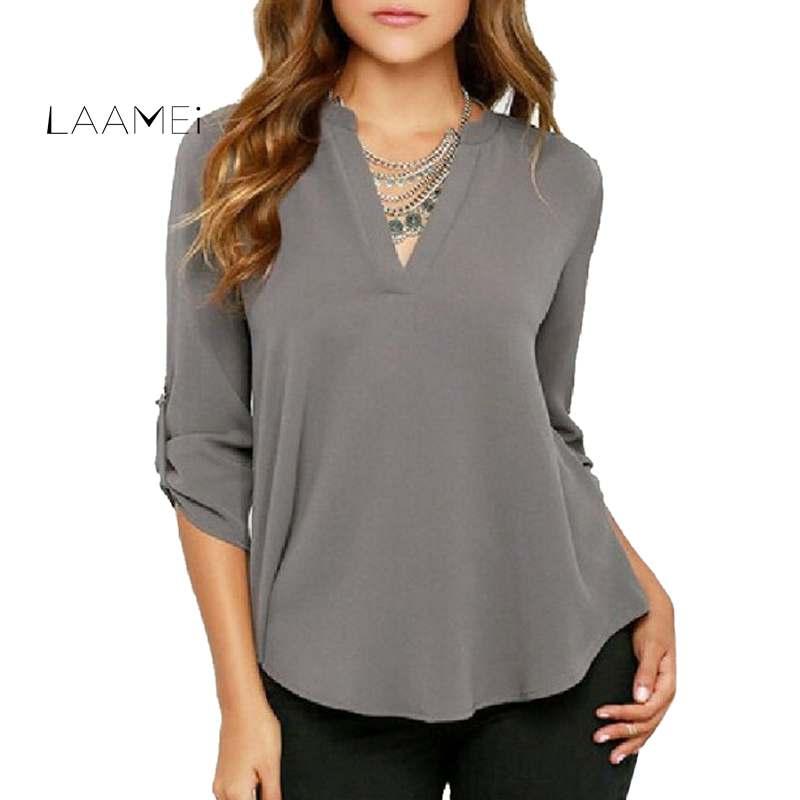 Galeria de blusa polyester por Atacado - Compre Lotes de blusa polyester a  Preços Baixos em Aliexpress.com 327bef8de2187