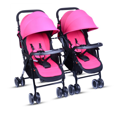 twins baby stroller can be folded can be folded high landscape can be split double