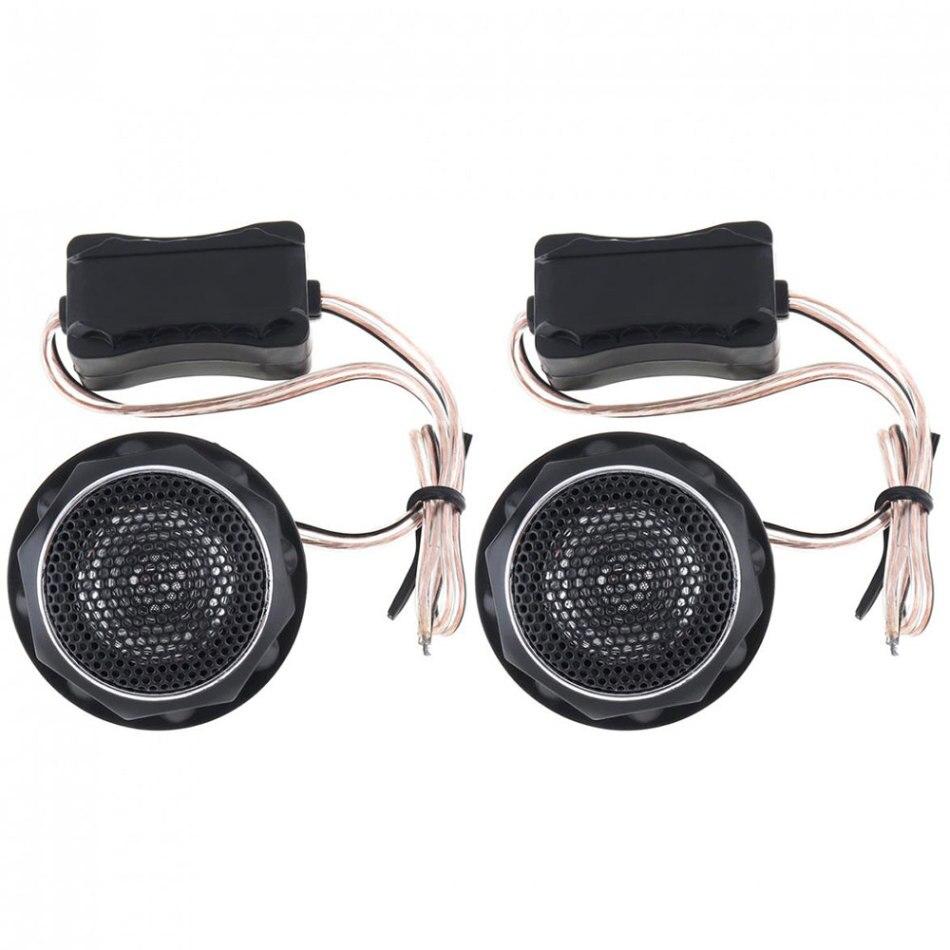 Gewidmet 2 Stücke 12 V 140 W Auto Mini Dome Hochtöner Ts-280 Hohe Effizienz Schwarz Lound Lautsprecher Für Car Audio System 3,5 Khz-22 Khz