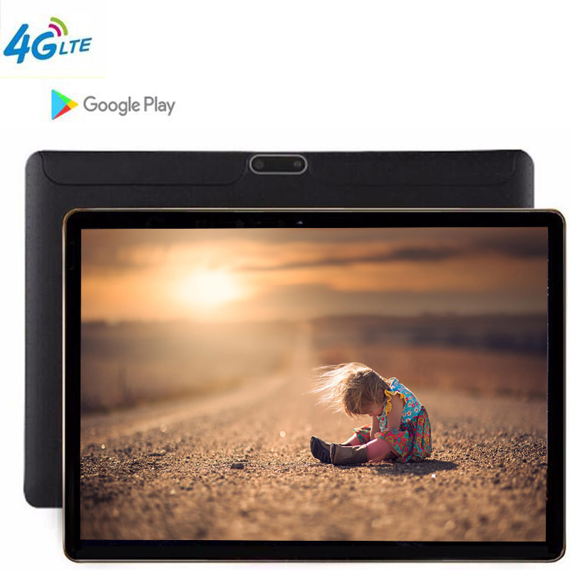2019 Android 8.1 10.1 Inch The Tablet  8 Octa Core Tablets RAM 4GB  ROM  64GB WiFi 3G WCDMA  4G LTE FDD GPS Bluetooth Tablet PC
