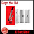 100% Authentic Kanger Kbox 40W Box Mod Adjustable Wattage 18650 Battery Mod Sub Ohm Vapor Mod Fit For kanger subtank atomizer YY