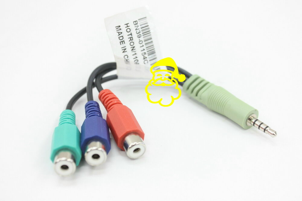ORIGINAL/Genuine BN39-01154C Component Video Adapter cable for SAMSUNG LED TV