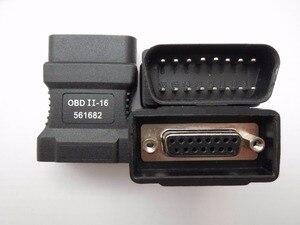 Image 2 - 100% For Autoboss v30 16 pins OBD II Adapter Car Diagnostic Obd2 Connecter OBD II Adaptor Connector 16pin connector DK80 2600+