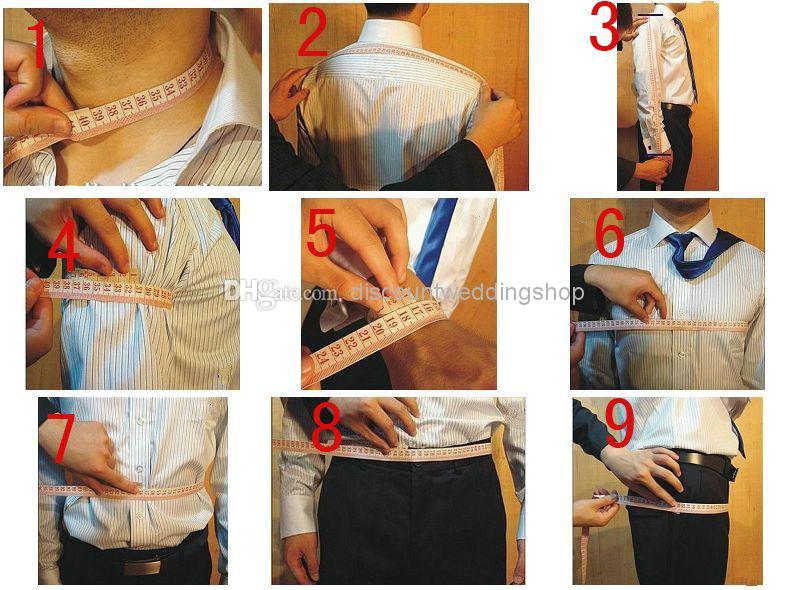 New Design One Button Black Groom Tuxedos Groomsmen Mens Wedding Prom Suits Custom Made (Jacket+Pants+Vest+Tie) K:32