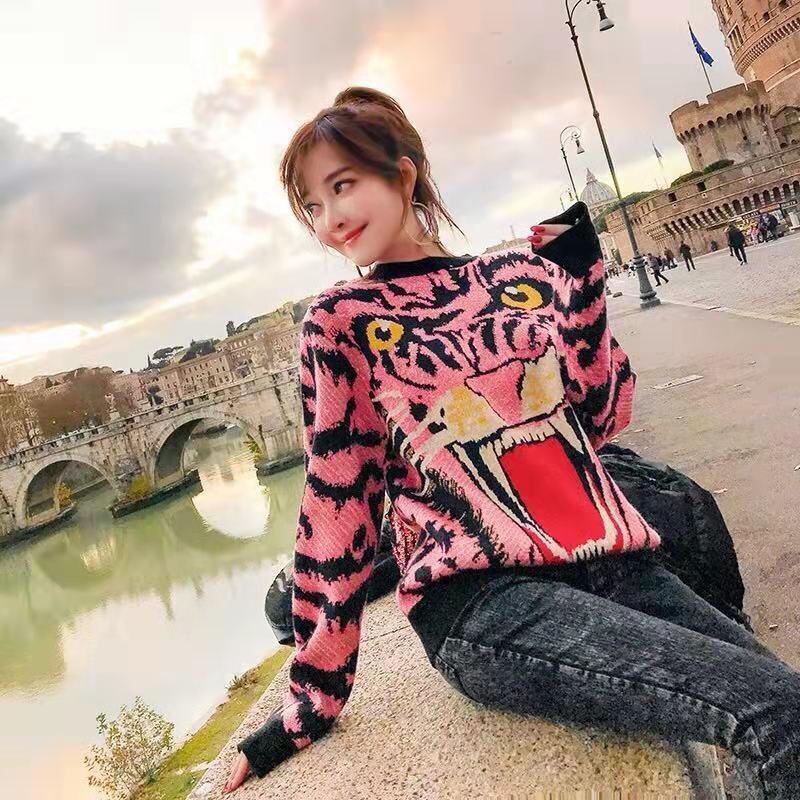 2019 Vêtements Chandails Européenne Ah03292 Femmes Design Style Partie Piste Mode Luxe Célèbre Marque De S4xx5HwUq