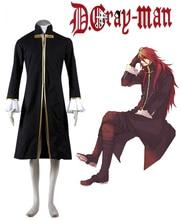 Envío Libre D. Gray-man Cross Maria Abrigo Anime Cosplay Costume