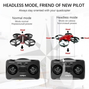 Image 2 - Mini Drone RC Quadcopter Remote Control Helicopter 4CH Pocket Aircraft Headless Mode Altitude Hold Toy Dron Shipped From RU