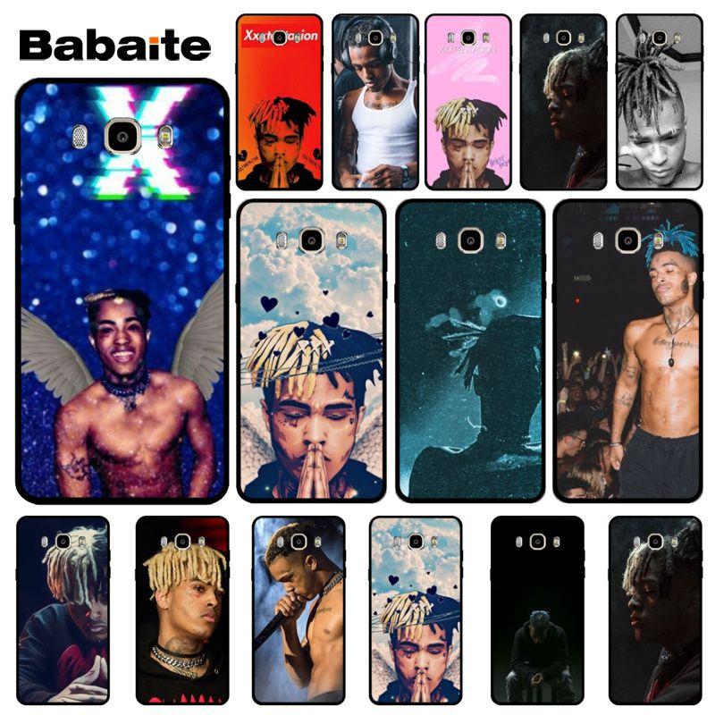 Babaite XXXTentacion Music Customized Picture Black Soft Shell Phone Case For Samsung J4 Puls J6 Puls J7 J6 2018 J7 2018 J4 2018