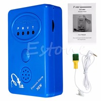 2017 Blue Bedwetting Enuresis Adult Baby Urine Bed Wetting Alarm Sensor With Clamp APR14 30