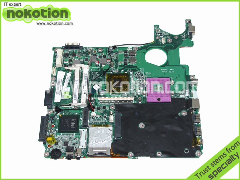 NOKOTION A000040980 DABL5SMB6E0 For toshiba Satellite P300 laptop motherboard PM965 DDR2 with graphics slot nokotion sps v000138980 for toshiba satellite l300 l305d motherboard 216 0674024 ddr2 6050a2323101 mb a01