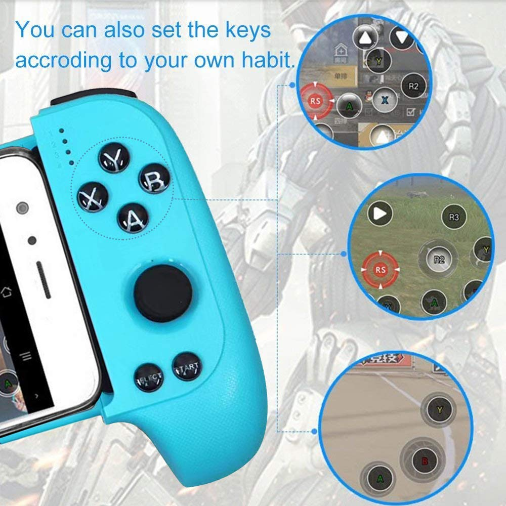 lowest price New Saitake 7007F Wireless Bluetooth Game Controller Telescopic Gamepad Joystick for Samsung Xiaomi Huawei Android Phone PC