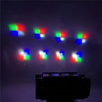 Mini LED Beam 8x10W 4IN1 RGBW Spider Moving Head Beam Light DMX Led Light Beam Angle Led Stage Lights DJ Party