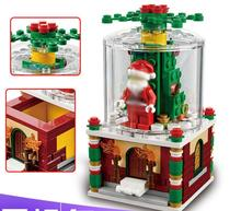 Lepin 36004 The Christmas Glass Ball Set Geuine Creative 40223 Building Blocks Bricks Educational Toys For Girls As Gifts