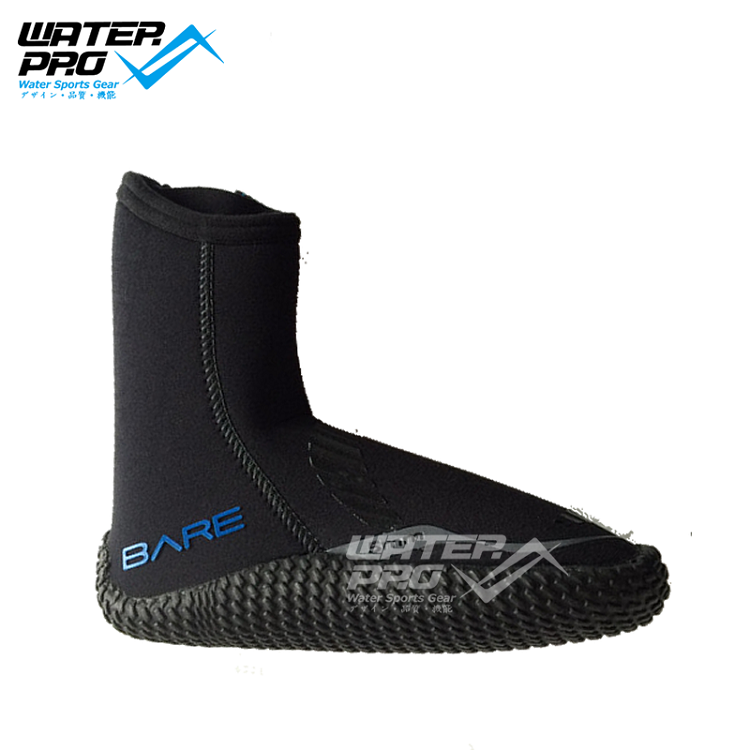 BARE DIVE 5MM BOOTS UNISEX Neoprene Dive Boots