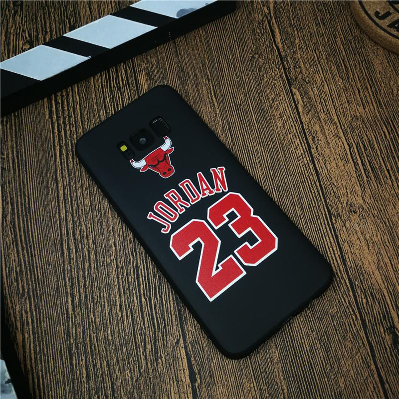 Basketball Sports Jordan Phone Cover Case For Samsung Galaxy S8 S9...