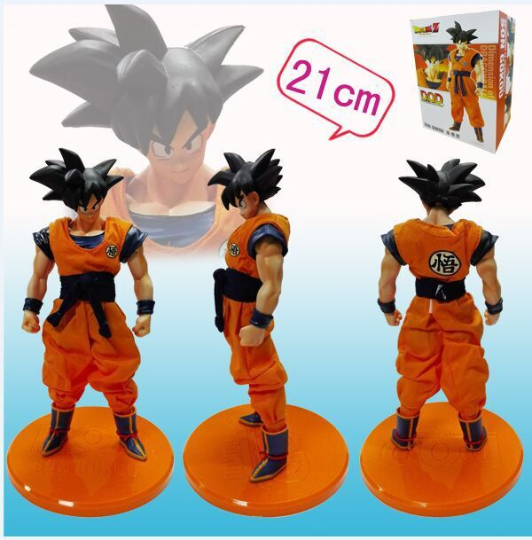 Подробнее о 21cm Dragon Ball Z Goku Action Figure PVC Collection figures toys for christmas gift brinquedos with Retail box Free shipping 16cm gotenks dragon ball z action figure pvc collection figures toys for christmas gift brinquedos collectible with retail box