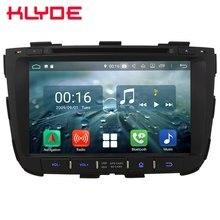 8 «ips Android 8,1 4G Wi-Fi Восьмиядерный 4G B ram 6 4G B rom автомобильный DVD мультимедийный плеер стерео радио головное устройство для Kia Sorento 2013 2014