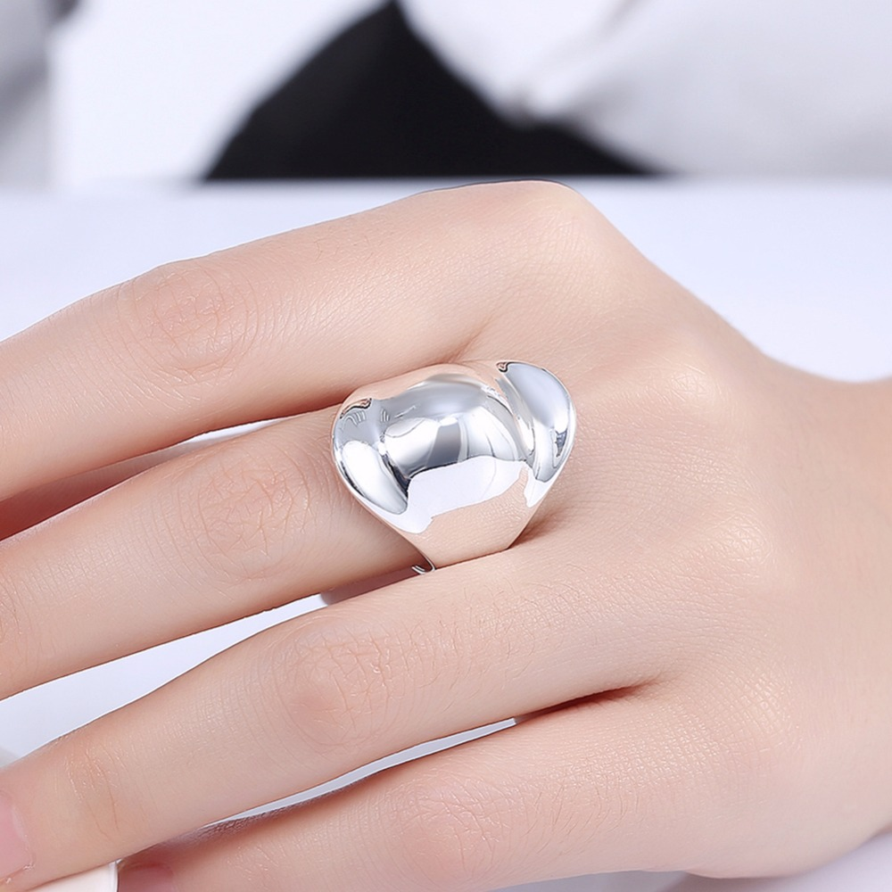 Brand New Fashion Jewelry Silver Plated Hat shape Thumb Rings For ...
