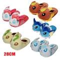 5 Estilos Go Cosplay Chinelos Pikachu Pokemon Umbreon Espeon Eevee Jolteon Vaporeon Plush Keychain Sapatos Sapatos Chinelos de Inverno