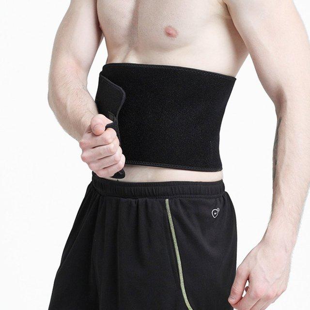 new Waist Tummy Trimmer Slimming Sweat Belt Fat Burner Body Shaper Wrap Band Weight Loss Burn quemador posture corrector