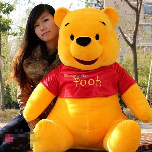 Fancytrader Biggest 39\'\' 100cm Giant Stuffed Cute Winnie Bear, Free Shipping FT50222 (2)
