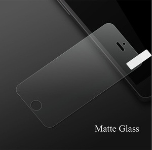 Image 4 - RONICAN No Fingerprint Premium Tempered Glass Screen Protector For iphone 5 5C Frosted Glass Protective Film For iPhone 5s SE