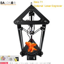 DIY Easy Assemble Kit T1/Z1 Metal 3d Printer High Accuracy Reprap i3 3d Printer With Filament HotBed SD Card Large Printing Size tronxy x5s 3d printer diy kit i3 high precision metal 3d printer diy kit aluminium extruder hotbed sd card build tools filament