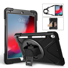 Conelz For iPad Air 3 10.5 Inch 2019 Case Hybrid Shockproof Rugged Case Kickstand Apple Pencil Holder for iPad Pro 10.5'' 2017 for apple new ipad 9 7 inch 2017 2018 case hybrid front back 360 full protection cover shockproof 3 layers built in kickstand