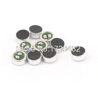 10 Pcs 6mm x 2.7mm SMD MIC Electret Microphone Condenser Pickup