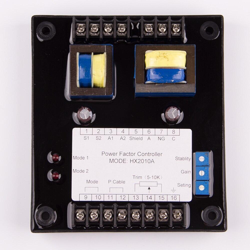AVR HX2010A AC contrôleur de facteur de puissance parallèle régulateur économiseur Anti-surcharge correction pièces de générateur électrique accessoires