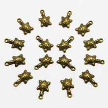 50pcs 12*18mm Vintage Turtle Metal Charms Fashion Jewelry Metal Charms Fit Jewelry Making Free Shipping! HJ00184