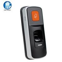 RFID Standalone Fingerprint Lock Access Control Reader Single Biometric Fingerprint Access Controller Door Opener With Doorbell