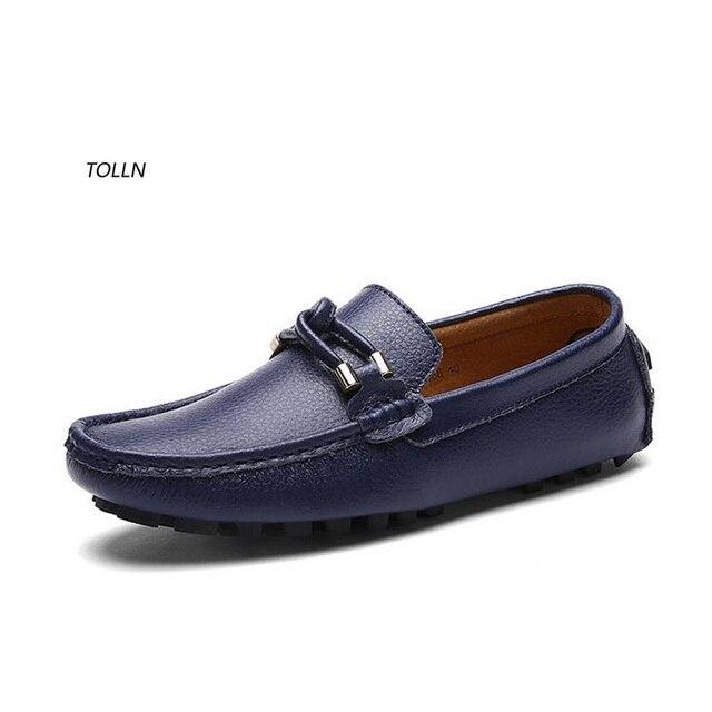 2016 новых мужская повседневная обувь дышащая 100% способа высокого качества кожа вождения обувь плоским лодка обувь бизнес обувь скольжения