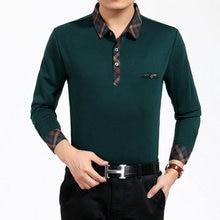 купить WAEOLSA Man Plain Shirt Plaid Collar and Hem Top Men Wine Red Navy Blue Green Gray Shirt Male Blusas Masculina Basic Blouses 2XL онлайн