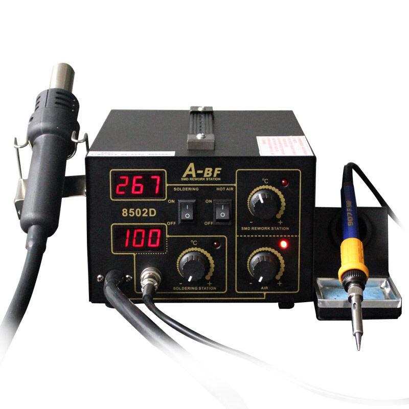 ABF 8502D horkovzdušná pájecí stanice 2 v 1 Pájení Duální - Svářecí technika - Fotografie 3