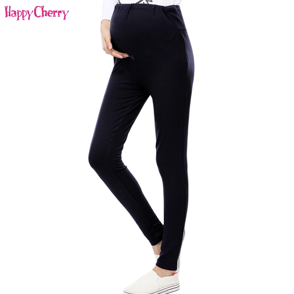 Warm Maternity Leggings Pants For Pregnancy Woman,Fashion High Waist Casual Trousers For Spring/Autumn