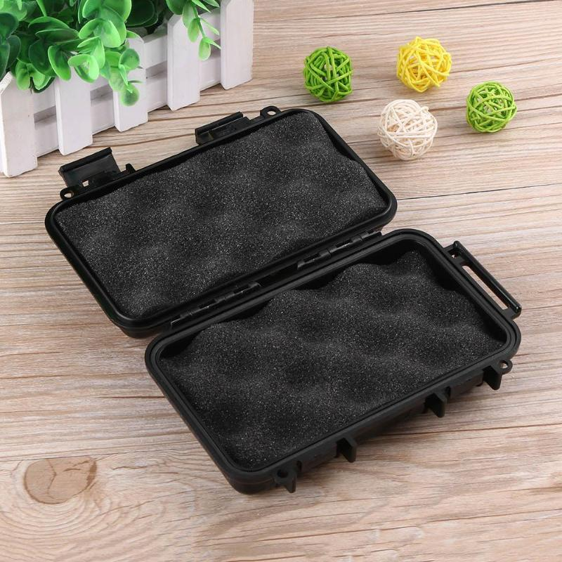 3 Sizes Waterproof Outdoor Tool Box Shockproof Sealed Safety Case ABS Plastic Tool Dry Box Toolbox Fishing Tackle Boxes