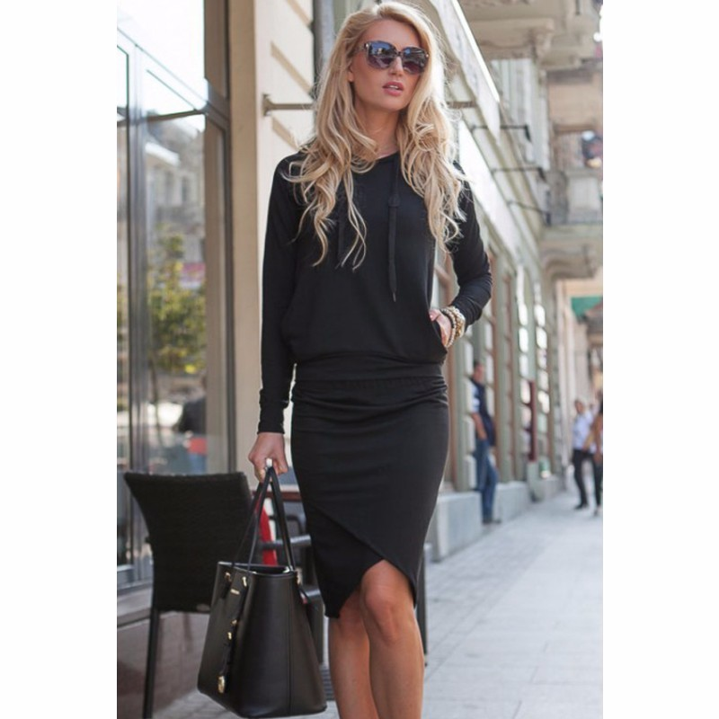 Black-Sporty-Hoodie-Pencil-Skirt-Set-LC63017-2-4_conew1