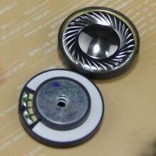 1 paire HIFI titane placage haut parleur unité pilote diamètre 40mm 16ohm pièces de rechange de réparation pour casque