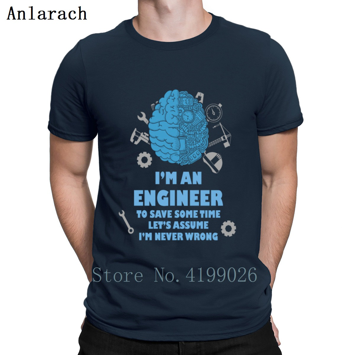 Engineer Engineer Is Never Wrong T Shirt New Fashion Design Pattern Summer O Neck Short Sleeve Novelty Anti Wrinkle Shirt T Shirts Aliexpress