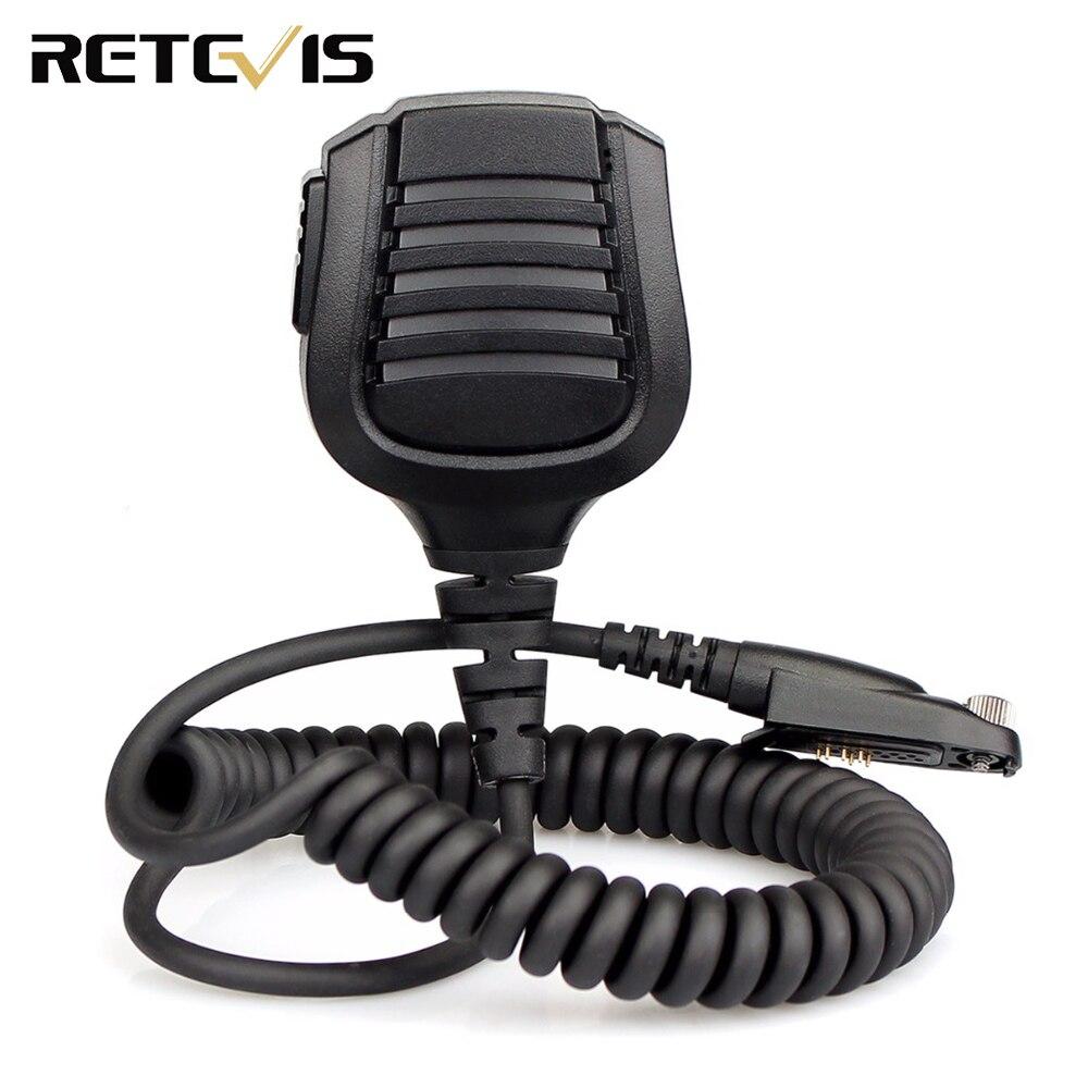 Retevis Speaker Microphone for Retevis RT82 Ailunce HD1 Dual Band DMR Digital Walkie Talkie J9127M(China)