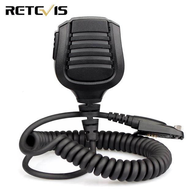 Retevis רמקול מיקרופון עבור Retevis RT82 Ailunce HD1 Dual Band DMR הדיגיטלי ווקי טוקי J9127M